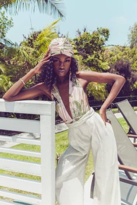 Leomie Anderson model, magazine, runway