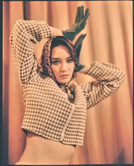 Mona Matsuoka magazine, photoshoots
