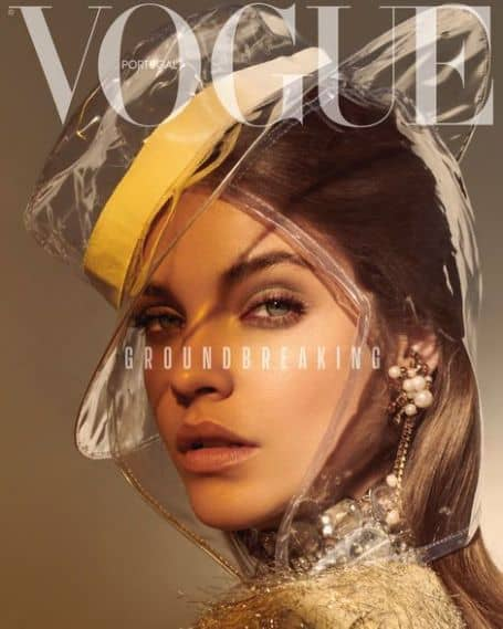 Barbara Palvin VOGUE magazines