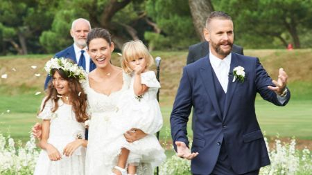 Bianca Balti wedding, husband, married, children, kids