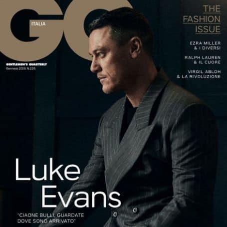 Luke Evans career