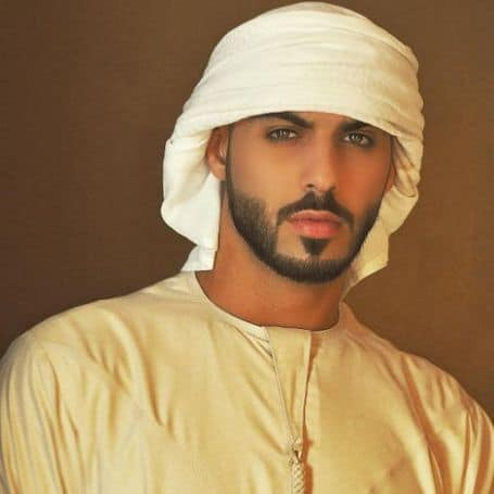 Omar Borkan Al Gala career, model