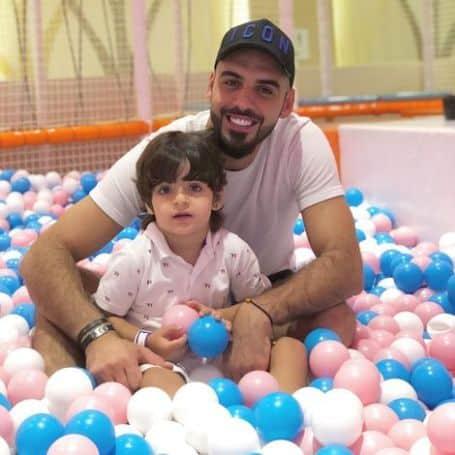 Omar Borkan Al Gala kid,son,baby
