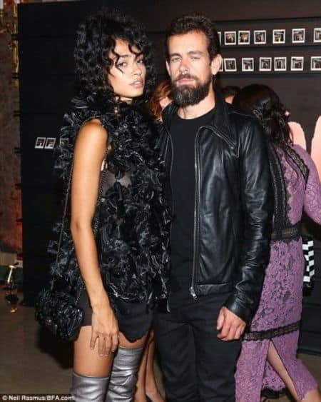 Raven Lyn and Jack Dorsey