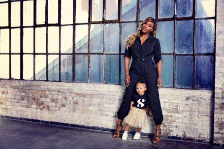 Serena Williams and daughter Fashion Week