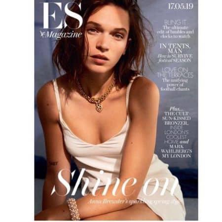 Anna Brewster cover magazine