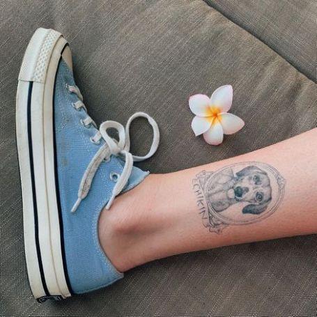 Ireland Baldwin Tattoo