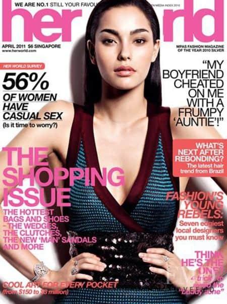 Adrianne Ho cover magazine