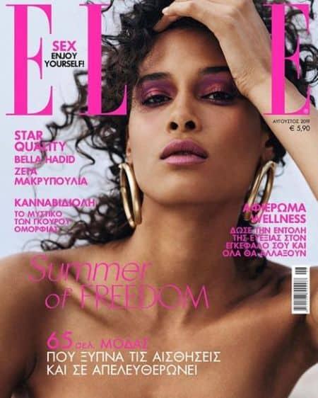 Cindy Bruna cover magazine