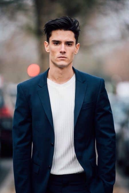 Diego Barrueco career, contract, modeling