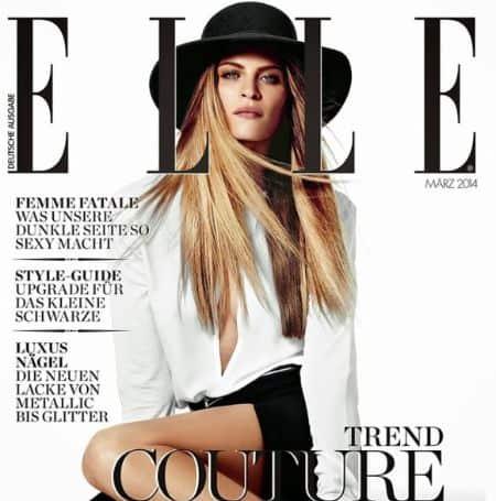 Frankie Rayder cover magazine