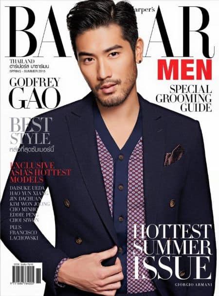 Godfrey Gao cover magazine