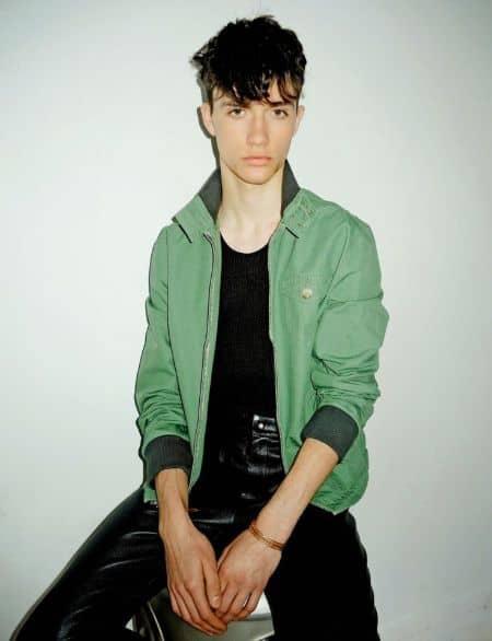 Jacob Bixenmana career, contract, modeling, photoshoot
