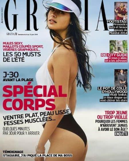 Jessica Clarke cover magazine