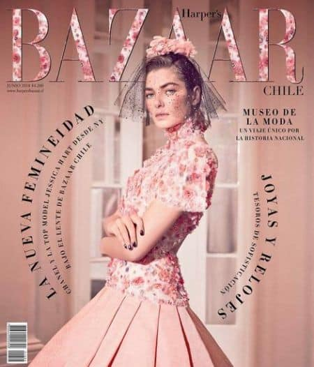 Jessica Hart cover magazine