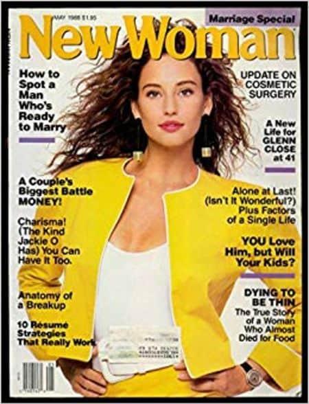 Jill Goodacre cover magazine