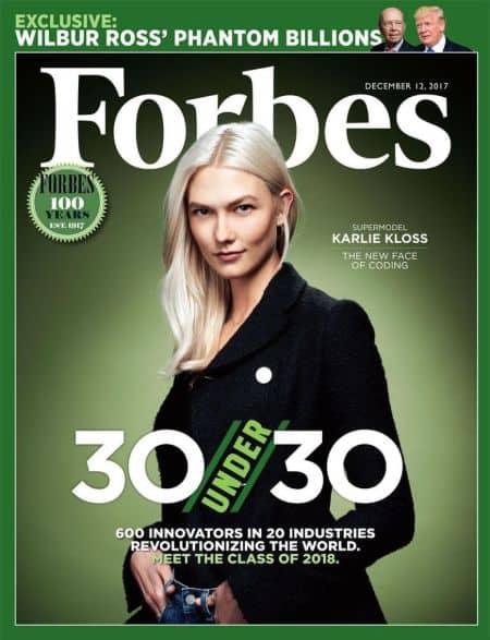 Karlie Kloss cover magazine