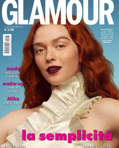 Larsen Thompson cover magazine