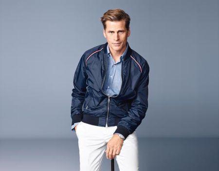 Mark Vanderloo profession, career, modeling
