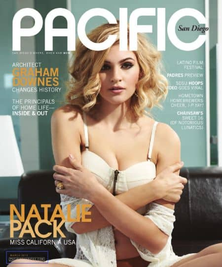 Natalie Pack cover magazine
