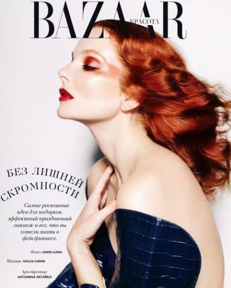 Eniko Mihalik cover magazine