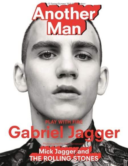 Gabriel Jagger cover magazine