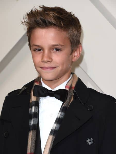 Romeo Beckham career