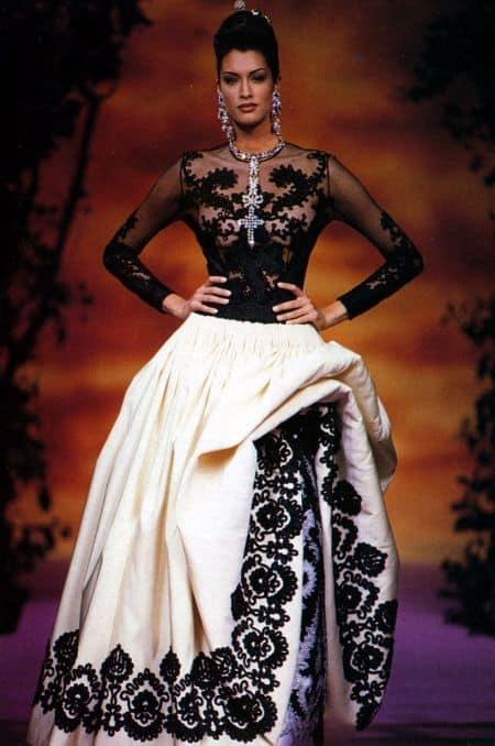 Yasmeen Ghauri career