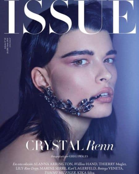 Crystal Renn book