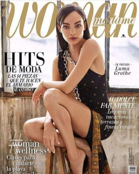 Luma Grothe cover magazine