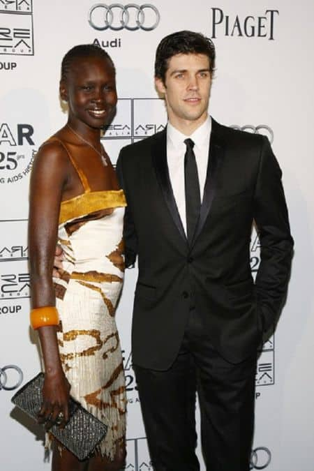 Alek Wek with Single