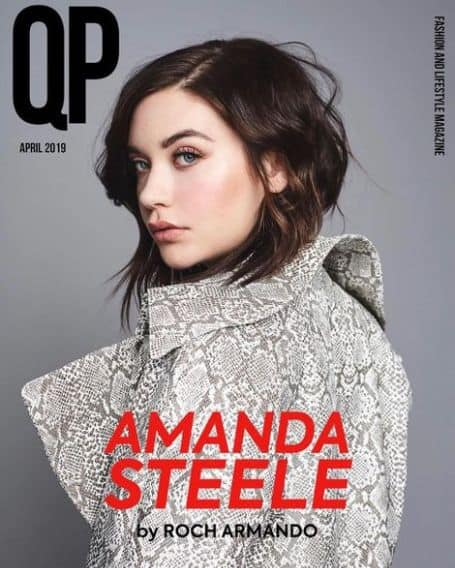 Amanda Steele cover magazine
