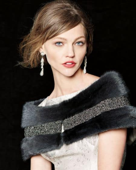 Sasha Pivovarova height, hair