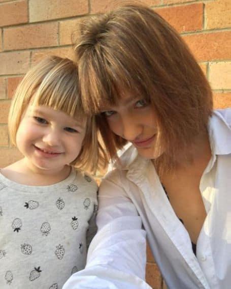 Tess Haubrich daughter