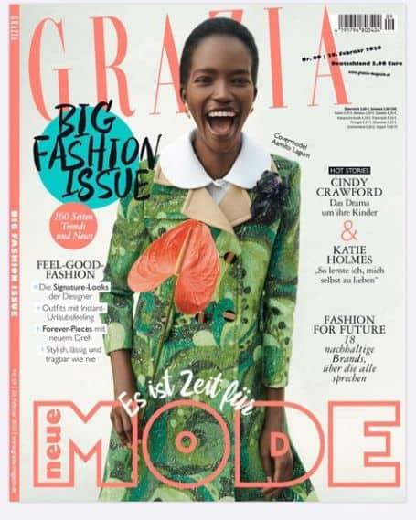 Aamito Lagum magazine