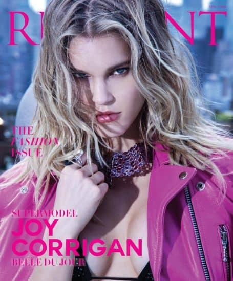 Joy Corrigan cover magazine