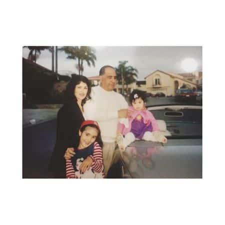 Alexa Mansour family