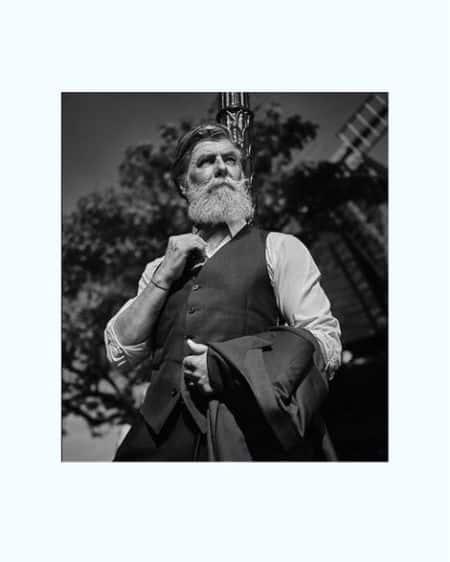 Philippe Dumas beard
