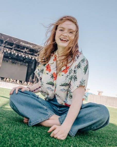 Sadie Sink height