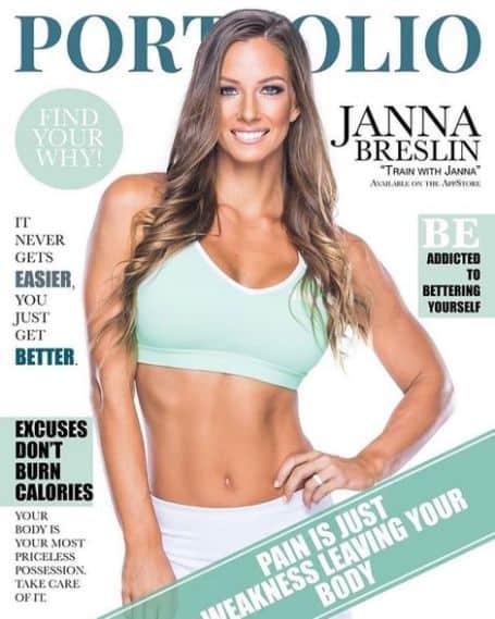 Janna Breslin magazine