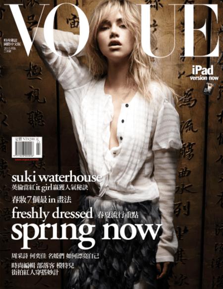 Suki Waterhouse career