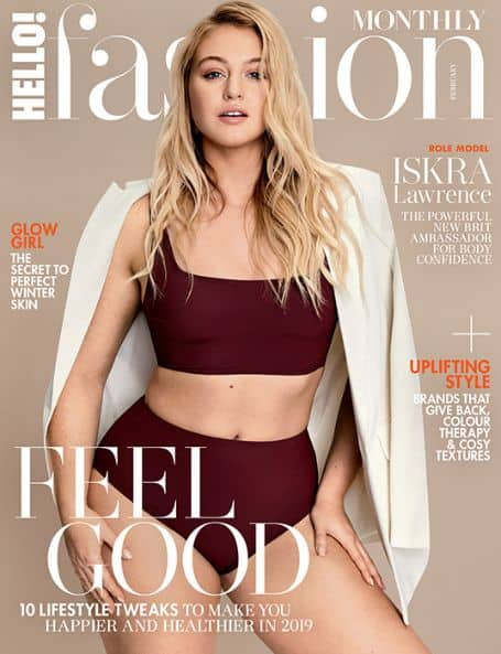 Iskra Lawrence magazine