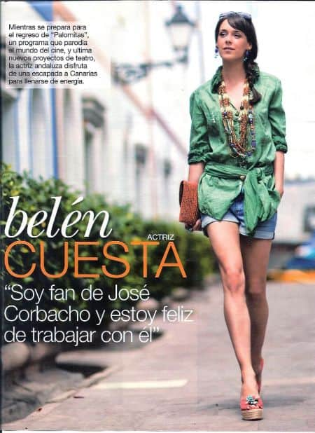 Belen Cuesta career