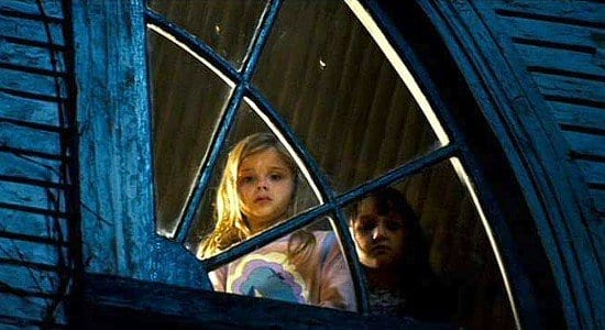 Chloe Grace Moretz as Molly in the movie, The Amityville Horror