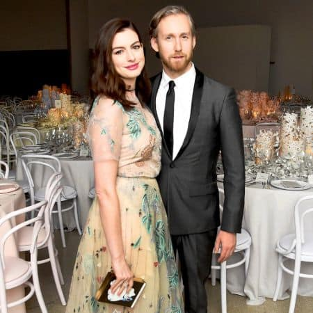 Anne Hathaway and her husband Adam