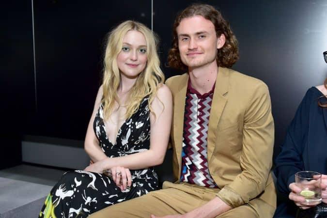 Dakota with her boyfriend Henry