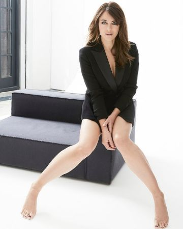 Confident and Talented British Model Elizabeth Hurley