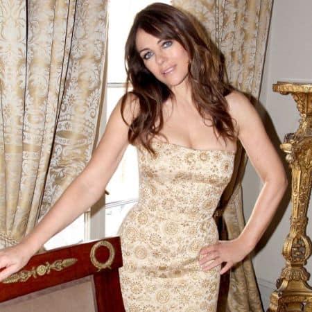 British Model and Actress Elizabeth Hurley