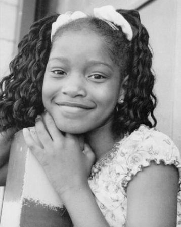 Childhood photo of beautiful Keke Palmer