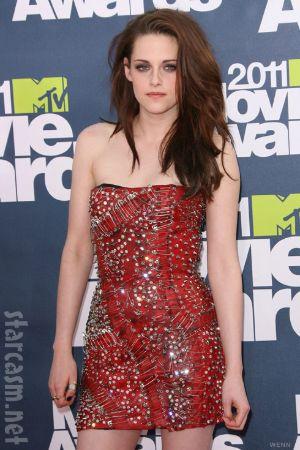 Kristen Stewart in beautiful red dress